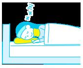 首の視点から枕を考える